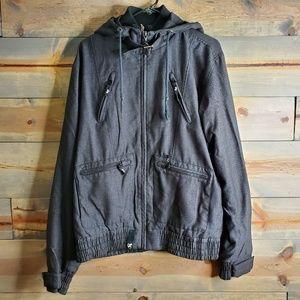 LNG Clothing & Equipment mens jacket, dark grey